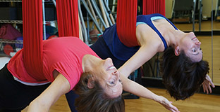 Silks Class at TriPilates