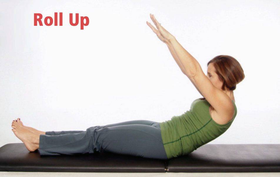 roll up pilates